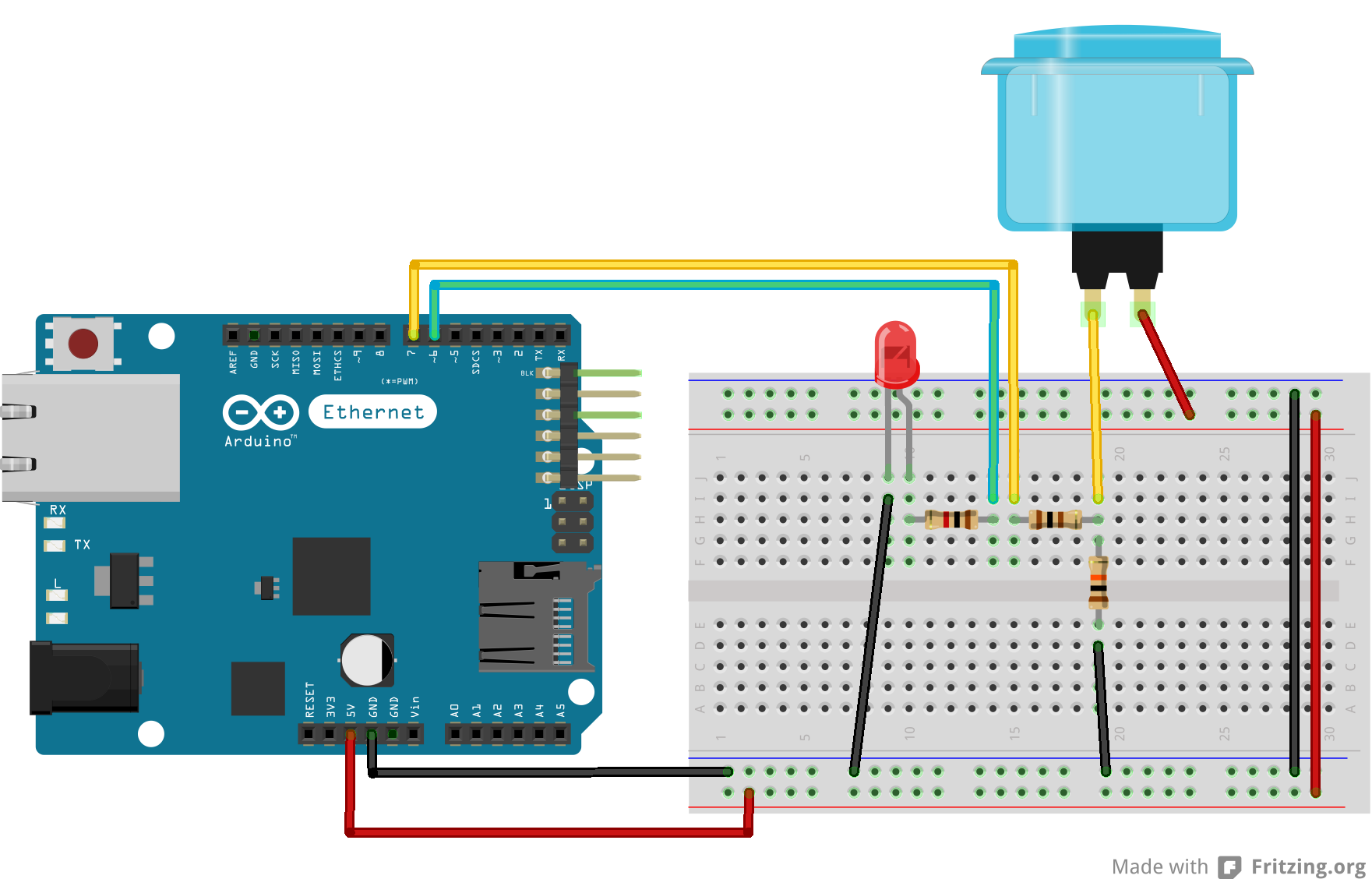 Arduino Wiring Diagram Library Led Clock Circuit Design On Fritzing Barkeng Mad Schematic Diagrams Schemawiring